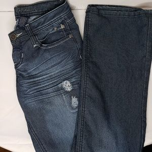 ZCO Premium Size 7 Embellished Boot Cut. Like new!